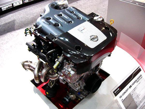 Двигатель VQ35DE