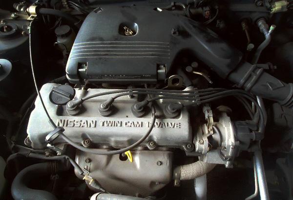 GA15DS под капотом Nissan Pulsar FN14 1994 года