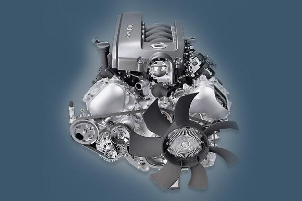 Двигатель Nissan VK56DE