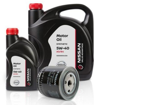 Моторное масло и фильтр