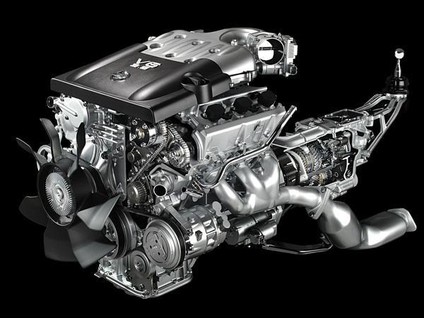 Двигатель VQ35DE NEO