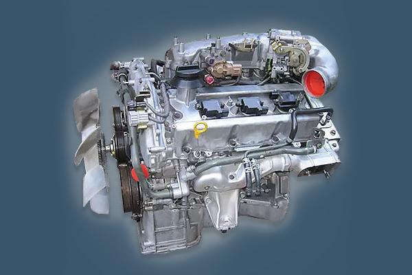 Представитель серии VQ двигатель VQ30DET