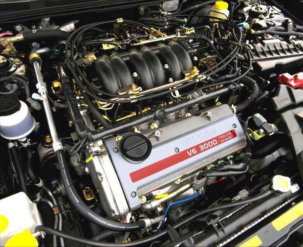 Двигатель VQ30DE под капотом Nissan Maxima