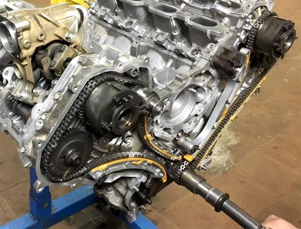 Цепи ГРМ двигателя VK56VD