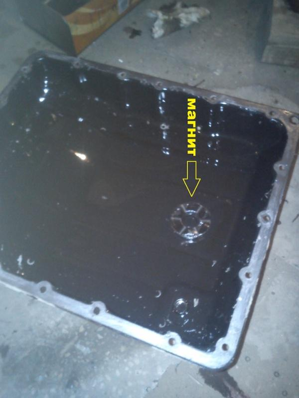 Проверяем уровень масла в АКПП Terrano