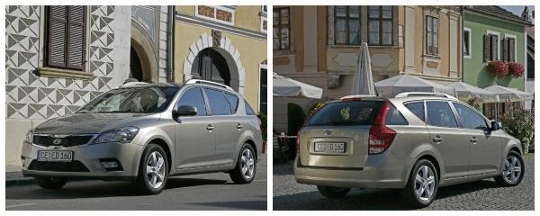 Kia ceed sw 2011 рестайлинг
