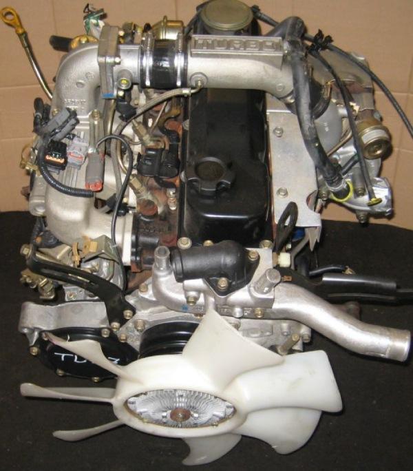 Дизельныйдвигатель Nissan TD27t