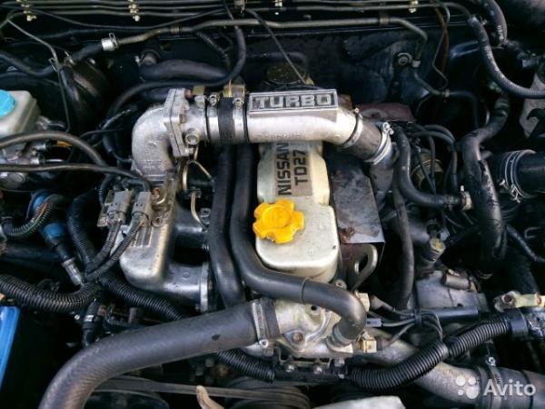 Обслуживания дизельногодвигателя Nissan TD27t