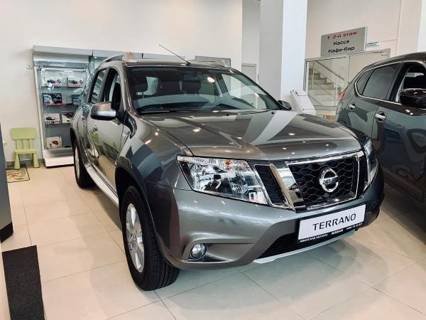 Первое техническое обслуживание Nissan Terrano