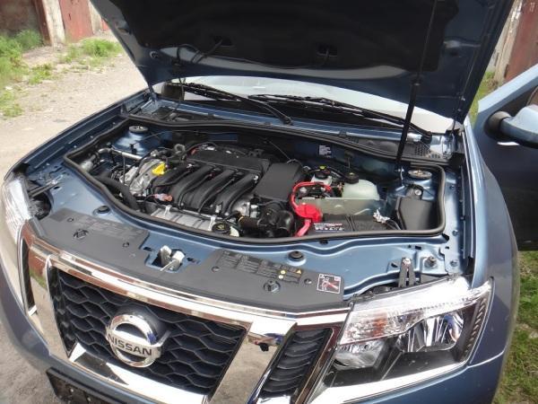 Второе техническое обслуживание Nissan Terrano