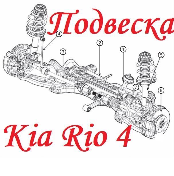 Подвеска Киа Рио 4