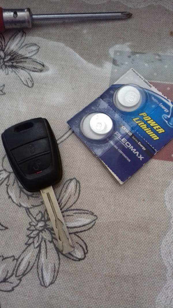 замена батарейки ключ киа сид ед