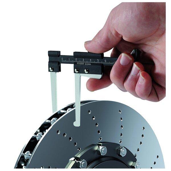 Измеряем износ тормозного диска