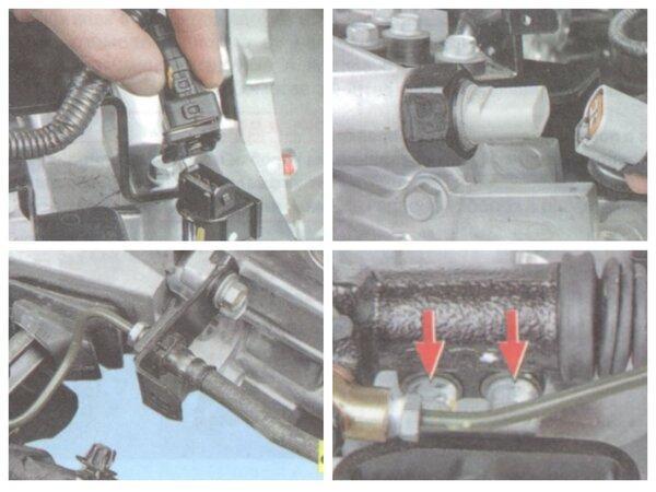 Демонтаж тросов и проводов от КПП