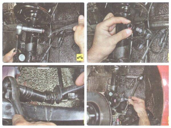 Замена передних стоек стабилизатора Kia Ceed JD