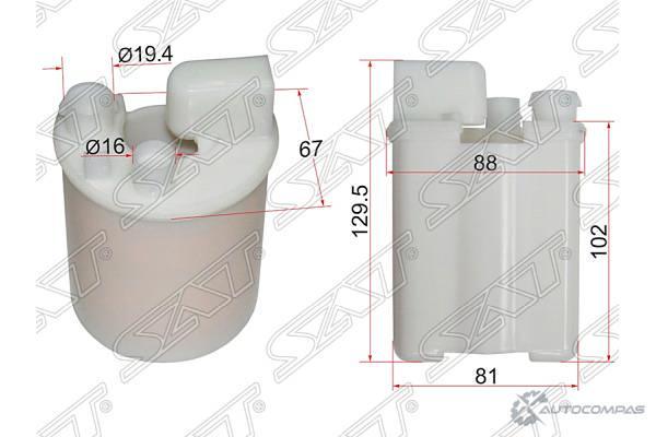 SAT ST319102H000 Фильтр топливный погружной