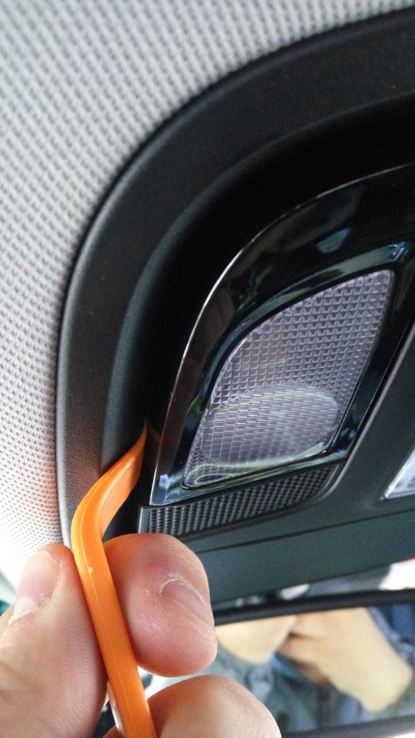 Замена ламп освещения салона - Sorento Prime