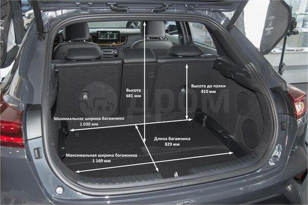Kia Xceed багажник