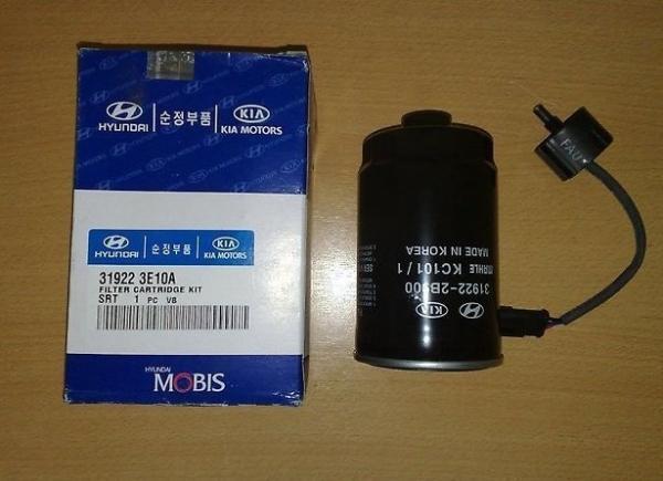 Замена топливного фильтра на Kia Sorento