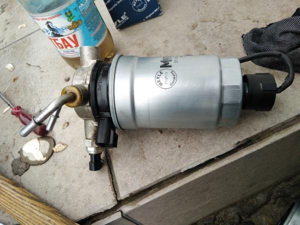 Интервал замены топливного фильтра на Kia Sorento