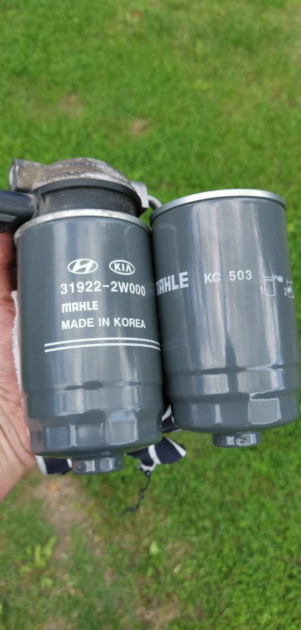 Меняем топливный фильтр на Kia Sorento дизель
