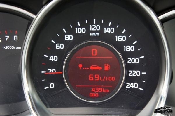 """Расход топлива - """"D4CB"""""""