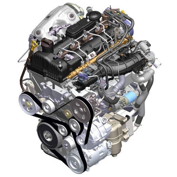 Конструктивные особенности мотора D4HB