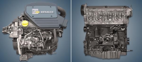 Двигатель F8Q Renault