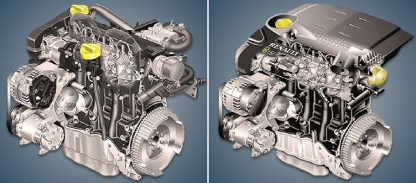 двигатель Renault K9K