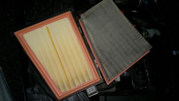 Воздушный фильтр Megane
