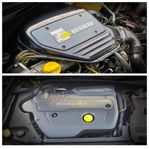 двигатели Renault