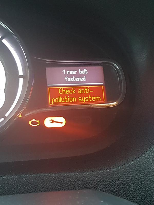 Check antipollution
