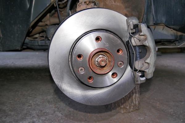 Механизм торможения Duster