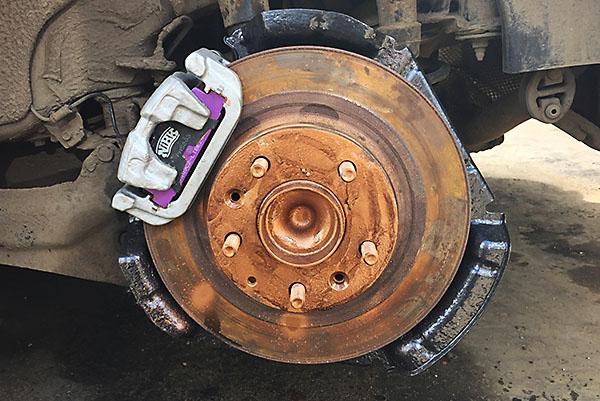 Задний тормозной механизм Mazda 6 GH