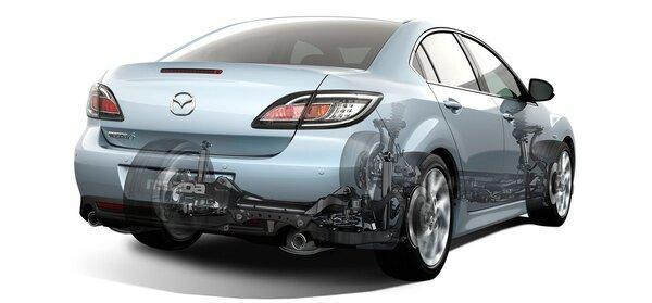 Ходовая Mazda 6 GH